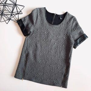 Forever 21 Short Sleeve Sweater